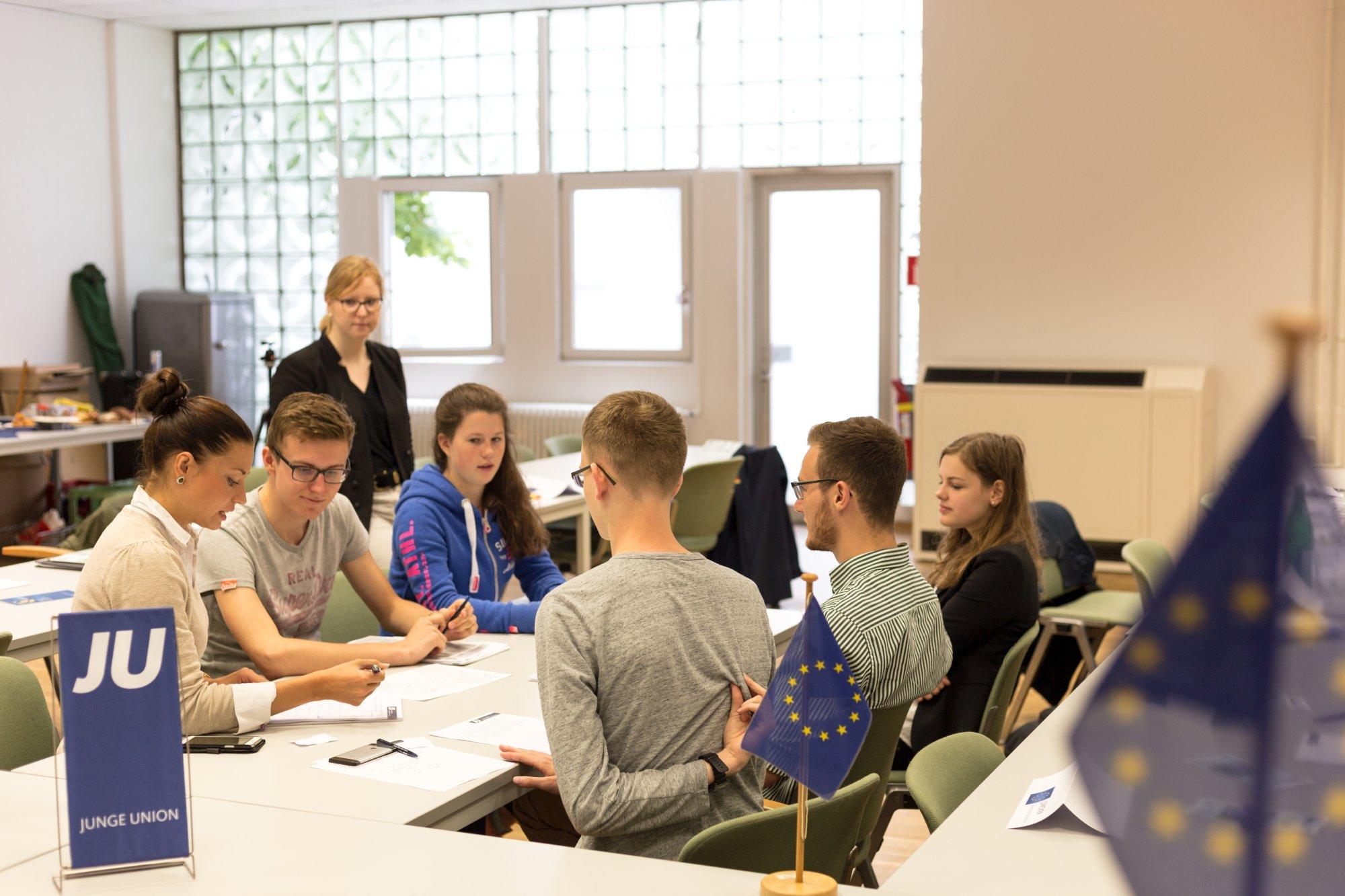 Planspiel der JU NRW in Aachen